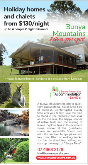Bunya Mts Accommodation